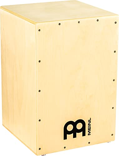 Meinl Cajon Rock/Pop - Box Drum for Beginners and Advanced Players - Ideal...