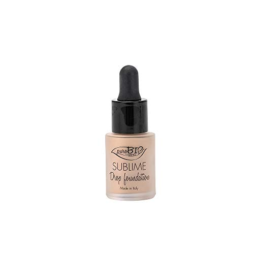 PuroBio Sublime Drop foundation Fondotinta fluido Anti-Pollution 15 ml colore 2