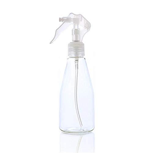 Botellas de Spray Botellas de pulverización Botellas de plástico de plástico vacío transparente de niebla de plástico transparente Botella de dispensador de recarga 200ml para la Limpieza de Jardinerí
