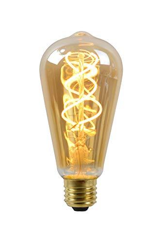 Lucide LED Bulb - Glühfadenlampe - Ø 6,4 cm - LED Dim. - E27 - 1x5W 2200K - Amber