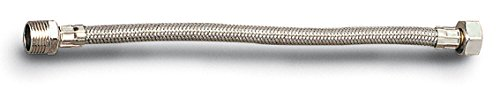 "Anzapack 951344U - Latiguillo De 13 Mm, Hembra 1/2"" - Macho 1/2"" De 25 Cm"