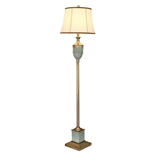 YANQING Duurzame Vloerlamp Hars Creatieve Leeslamp IKEA Geschikt Voor Woonkamer Slaapkamer Studie Nachtkastje Decoratieve Licht 051 (Maat: Afstandsbediening), Grootte: Afstandsbediening