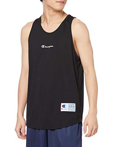 [チャンピオン] タンクトップ 抗菌防臭 吸水拡散 高通気 ベタつき軽減 スクリプトロゴ バスケットボール CAGERS C3-TB353 メンズ ブラック S