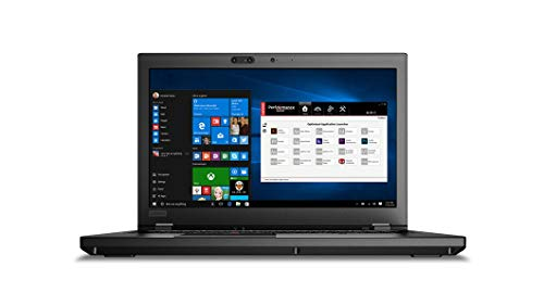Lenovo 15.6' ThinkPad P52 LCD Mobile Workstation Intel Core i7 (8th Gen) i7-8850H Hexa-core (6 Core) 2.6GHz 16GB 512GB SSD Windows 10 Pro 64-bit Model 20M9000LUS (Renewed)
