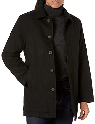 cappotto uomo invernale corto Amazon Essentials Wool Blend Heavyweight Car Coat Outerwear-Coats