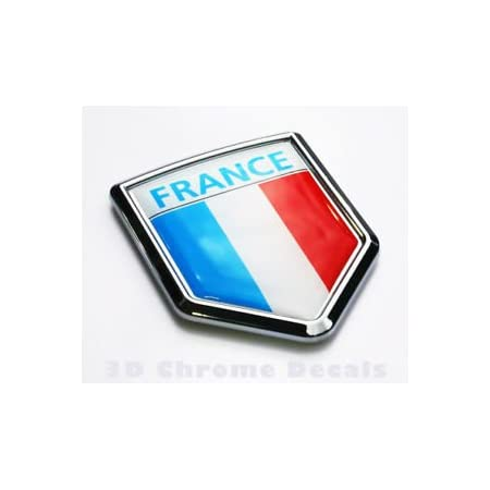 Irish Flag Decal Flag of Ireland Sticker Window Tailgate Emblem Badge Logo Crest 3D Chrome Green White Orange Flag
