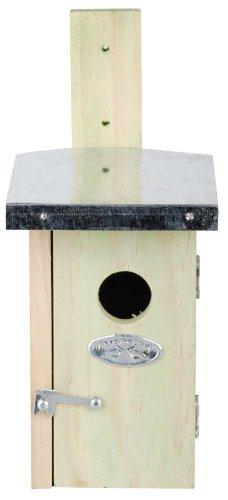 Esschert Design - Casetta per regoli, con tetto in zinco
