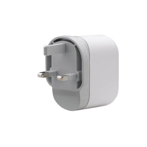 Belkin iPod NetzAdapter USB Duo (geeignet für iPod und iPhone inkl. Ladekabel und mini USB Kabel)