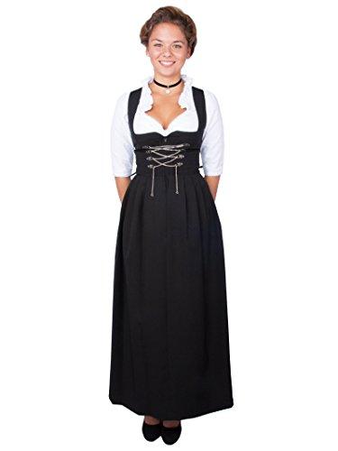 Stockerpoint Damen Amber Dirndl, Schwarz (Schwarz Schwarz), 46