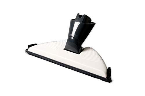Laminatdüse/Hartbodendüse/Bodendüse weiß/grau für Laminat & Fliesen kompatibel mit Vorwerk Kobold VK 150, VK 200