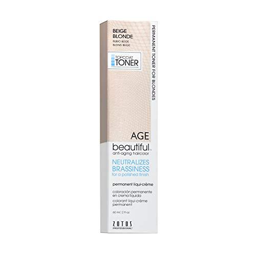 Agebeautiful Liqui-Creme Topcoat Toner Beige Blonde, 2-Ounce