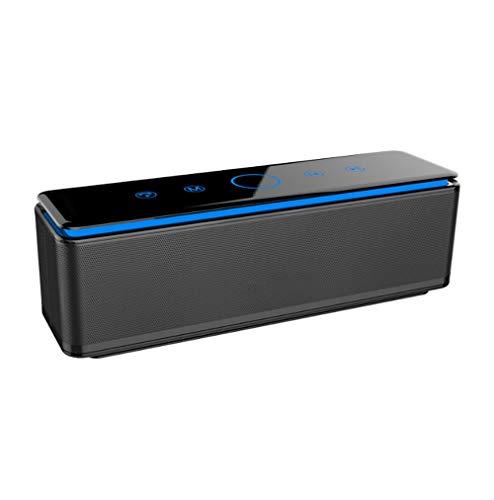 ZOUSHUAIDEDIAN Altavoces Bluetooth, altavoces portátiles Bluetooth 4.1 Touch Touch, emparejamiento con estéreo inalámbrico, altavoces para la fiesta en interiores, muy adecuado para la familia, al air