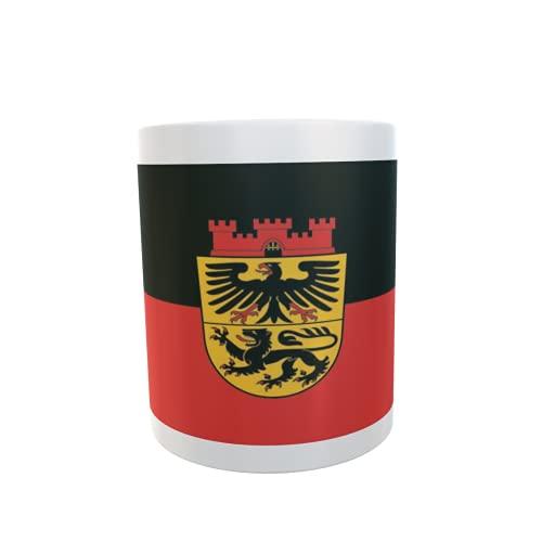 U24 Tasse Kaffeebecher Mug Cup Flagge Düren