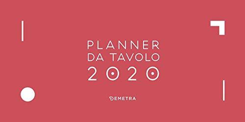 Planner da tavolo 2020, 29 x 15 cm