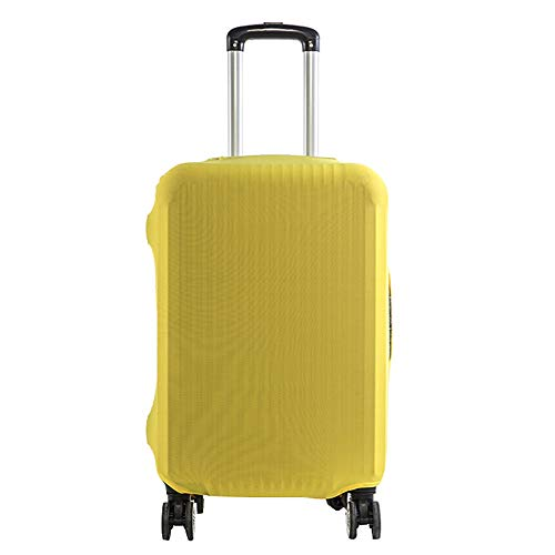Cratone Funda elástica para maleta de 18 a 32 pulgadas, amarillo (Amarillo) -...