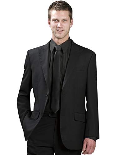 UMISS Herren Zwei Knöpfe 2 Stück Peak Revers Anzüge Jacke Hosen