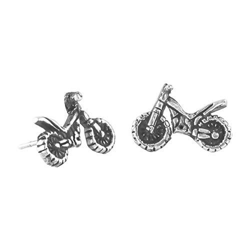 Pendientes 'Moto' de comercio justo, hechos a mano en México, plata de ley 925