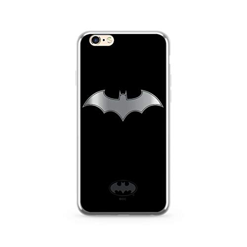 Estuche para iPhone 6 Plus DC Batman, Original con Licencia Oficial, Carcasa, Funda, Estuche de Material sintético TPU-Silicona, Protege de Golpes y rayones