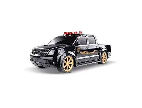 Carrinho Polícia Pick-up Vision Federal Hilux Toyota - Roma