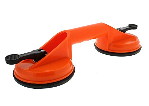 ABN Double Suction Cup for Glass, Windshields, and Dent Pulling