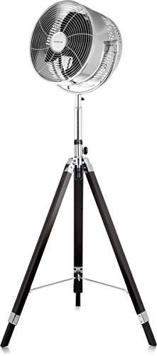 Emerio FN-120956 Standventilator, 30 cm, oszillierend, 50 W, Schwarz