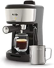 Mr. Coffee Steam Espresso Cappuccino and Latte Maker, One Size, Black