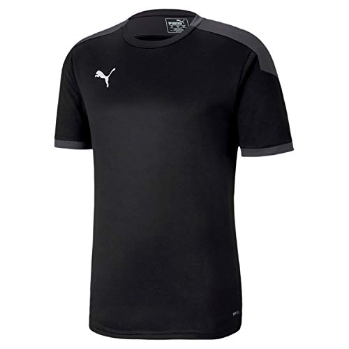 PUMA Teamfinal 21 Training Jersey Camiseta, Hombre, Black-Asphalt, M