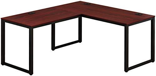SHW Home Office L Shaped Corner Desk