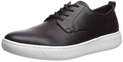 Calvin Klein Men's FIFE Sneaker, Black Smooth Calf Leather, 7.5 M US