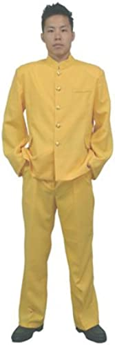 tienda de bajo costo Amarilla Amarilla Amarilla (Importaciones japonesas) hombres Uniforme escolar Colorida de  precios mas bajos