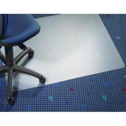 Bodenschutzmatte für Teppichboden von Clear Style   Aus transparentem Polycarbonat   120 x 180 cm