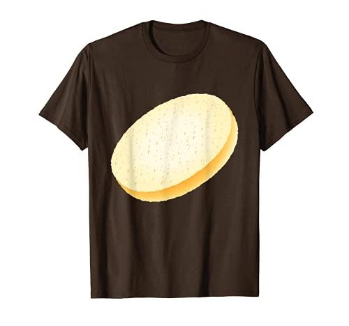 Burger Costume Bun Pan en rodajas Tostada a juego Hamburguesa Camiseta