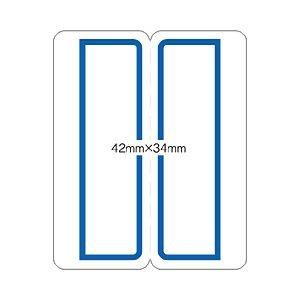(業務用セット) ニチバン マイタック PCインデックス 42×34mm 青枠 【×20セット】 ds-1639789
