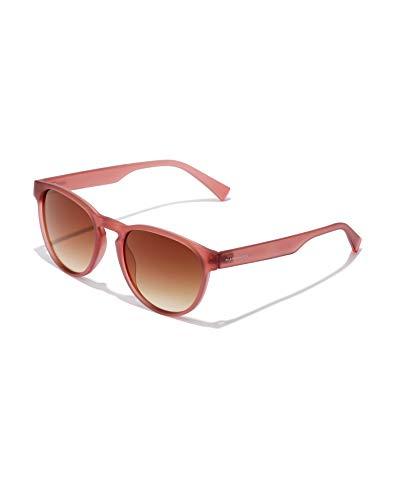 HAWKERS Crush Gafas de Sol, Rojo Transparente/Marrón, One Size Unisex Adulto
