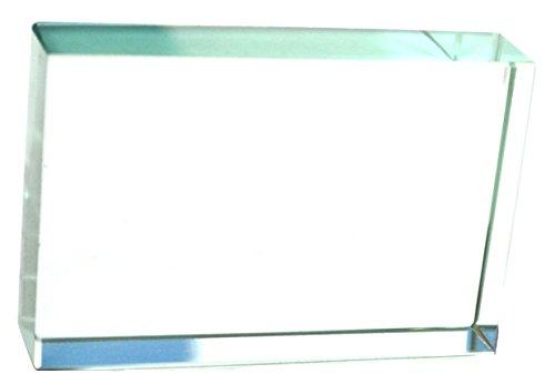 Eisco Labs Glasblock, rechteckig, 75 x 50 x 18 mm