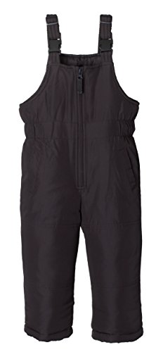 Sportoli Kids Water Resistant Snowboard Skiing Snowbib Snowpants Snow Bib Pants - Navy (10/12)