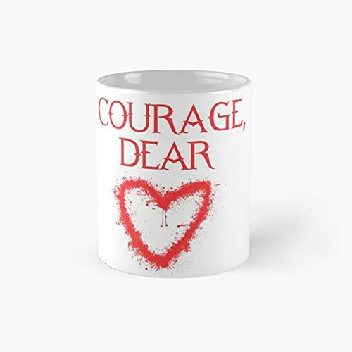 Courage Dear 3 Classic Mug Best Gift Funny Coffee Mugs 11 Oz