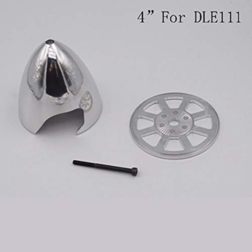 Buy Bargain Part & Accessories Miracle 4 Inch 102mm CNC Aluminum Spinner For RC DLE111 Airplane - (D...