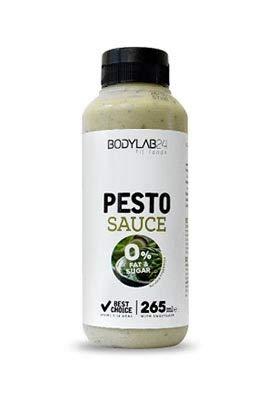 Bodylab24 Sauce | 265g | Pesto | Lecker, kalorienarm, ideal als Grundlage für Salatsaucen oder zu Fleisch und Fisch!