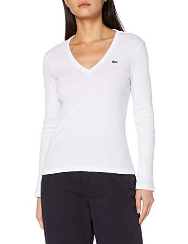 Lacoste T-shirt, Femme, TF2317, Blanc, 42