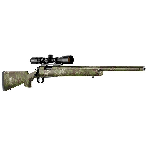GunSkins Rifle Skin - Premium Vinyl Gun Wrap with Precut Pieces - Easy to Install and Fits Any Rifle - 100% Waterproof Non-Reflective Matte Finish - Made in USA - Kryptek Mandrake