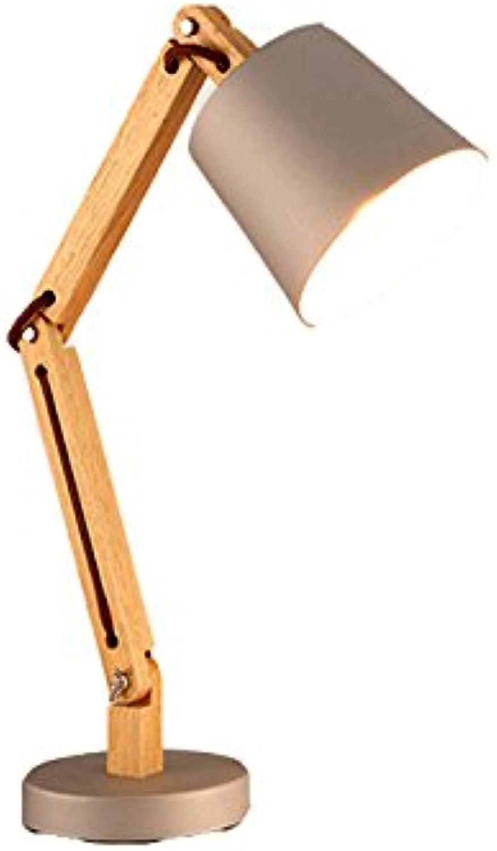 Cuiping- Klapplichter Schlafzimmer Bett Lampen Schlafzimmer Nachttischlampen Study Desks Work Reading Lamps (Farbe   Wei)
