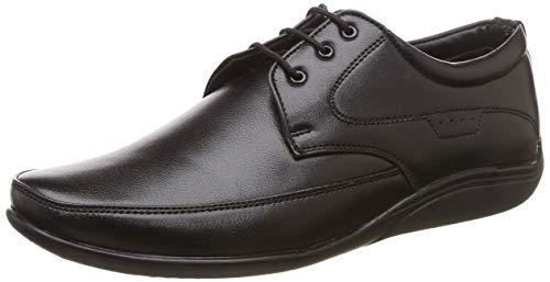Lancer Men's LD-209 Black Formal Shoes-9 UK/India (43 EU) (LD-209-BLACK-9)