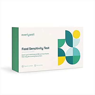 Everlywell Food Sensitivity Test - Learn How Your Body Responds to 96 Different Foods - at-Home Collection Kit - CLIA-Certified Labs - Ages 18+ (Not Available in NY, NJ, RI) from Everly Well
