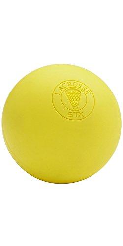 STX Lacrosse Official Lacrosse Balls Yellow - 6 Pack