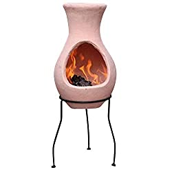 Gardeco Small Air Model Chimenea without Lid - Natural Terracotta