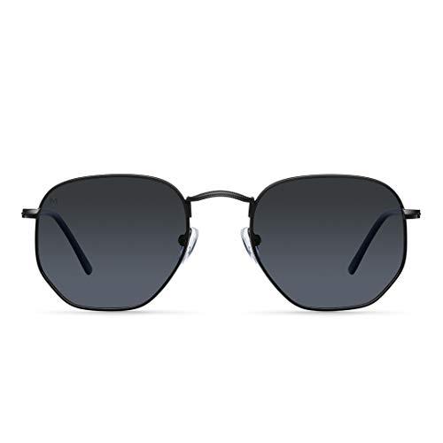 Meller Eyasi All Black - UV400 Polarisiert Unisex Sonnenbrillen