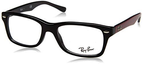 Ray-Ban Unisex-Kinder 0RY 1531 3749 48 Brillengestelle, Schwarz (Black)