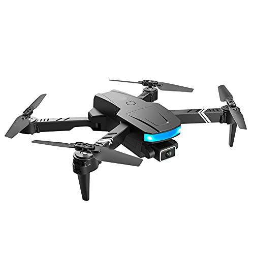FMHCTN Drone a Quattro Assi, Aereo per Fotografia Aerea a Doppia Lente 4K, Aereo Giocattolo telecomandato Multi-rotore, Piegatura transfrontaliera, Doppia Lente, Una Batteria