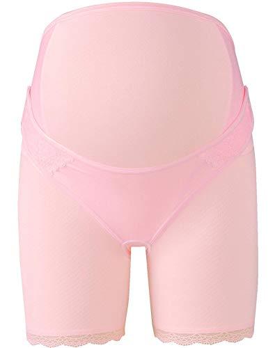 ワコール (Wacoal) マタニティ 妊婦帯 パンツタイプ ( 日本製 ) 産前 [ 1枚で着用できる ] ロング丈 LL ピンク MGP183 PI